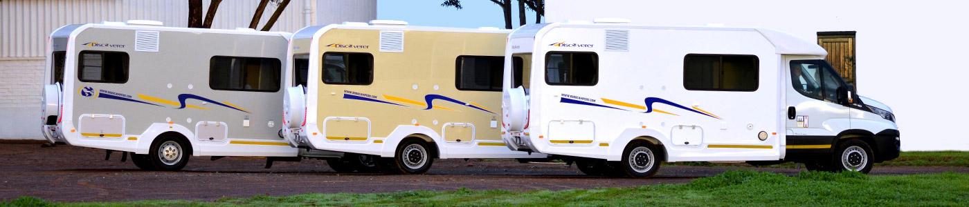 Discoverer 6 - Bobo Campers camper / motorhome rentals