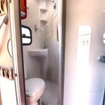 Discoverer 6 bathroom. Quality camper and 4x4 hire South Africa & Namibia