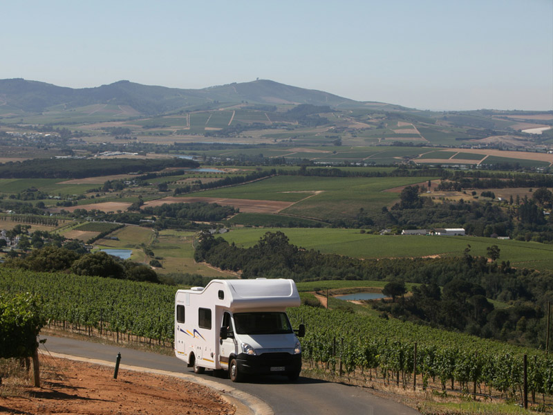 Wineland exploring in a Discoverer 6