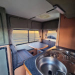 Discoverer FunX 4x4 interior. Sunset class